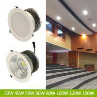 展柜天花射灯 D型LED天花灯30W 36W 40W 50W 60W 70W展厅天花灯