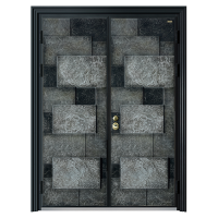 爱仕堡高端定制防盗门 甲级防盗门 铸铝门 防盗门十大品牌 拼接安全门安全可靠