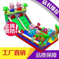 成都各种大小型城堡定制/重庆厂家制作滑梯