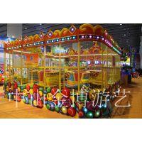 金博室内游乐设施 欢乐喷球车游艺设备厂家