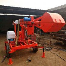 小型污水井清理机械展示 品牌抓污水井淤泥的机械设备 洪涛电力 厂家直销