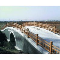 枣庄厂家批发各种仿木护栏 水泥仿石护栏 可定制