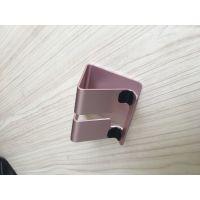 提供安若五金 铝材质 手机支架金属五金件定制加工钣金件生产厂