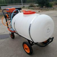 植保机械 大棚打药机园林打药机 四轮农用手推车式电动喷雾器