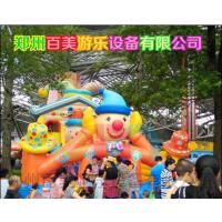宁夏吴忠儿童充气蹦蹦床,新款马戏团大型充气城堡火热登场!