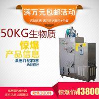 旭恩50KG低压生物质颗粒燃料蒸汽锅炉纺织厂加湿