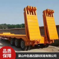 乌鲁木齐凯迪捷牌集装箱骨架半挂车快速装卸厂家销售
