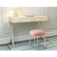北欧式书桌白色化妆台别墅定制家具