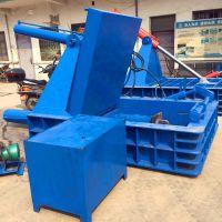 供应金属压块机 液压易拉罐压块机 铁屑铝块压饼机