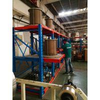 江苏模具货架批发 重型抽屉式货架层板 专业模具存放 5吨承重
