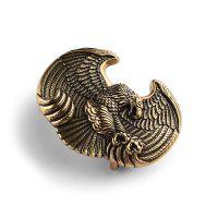 深圳纯铜皮带扣厂家 供应老鹰复古纯铜扣头 黄铜皮带扣工厂