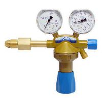 供应德国林德氧气气瓶减压器40490 出气20bar