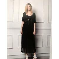 南京沙河服装批发市场欧美品牌折扣女装多种款式尾货批发圣格瑞拉夏装