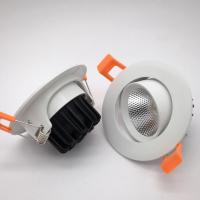广东丰惠工厂直销 Q6-A88mm-2.5寸筒灯5W嵌入式cob射灯外壳套件塑料套件 天花灯