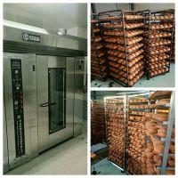商用面包烤箱 32盘380V大型不锈钢面包烤箱 旋转面包烤箱月饼烤炉