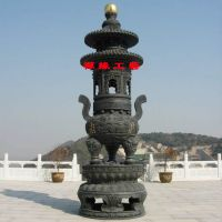供应湖南郴州寺院仿古宝鼎大雄宝殿大型铸铜宝鼎图片
