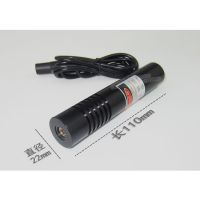 供应100MW大功率大尺寸 点状激光器 手电筒式激光灯 YD-D650P100-A22-110