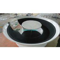 玻璃钢桌椅凳咖啡杯模型雕塑树脂茶杯造型坐凳定做杯子椅子商业街休闲水吧装饰摆件