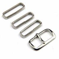 厂家订制22mm尼龙表带钢环扣真皮表带钢圈配件表扣304不锈钢表扣