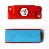 红色10g高敏感性drop n tell防震标签 物流运输冲击指示器