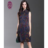 供应:高端旗袍,时装,定做女装,旗袍价格 中式唐装 航龙服饰 量身定制