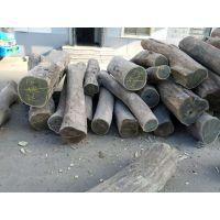 阿根廷进口绿檀去皮原木