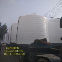 批发滨州5立方塑胶水桶 耐酸碱5吨加厚滚塑化工桶