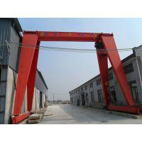 湖北10吨电动葫芦单梁门式起重机生产厂家—豫正起重