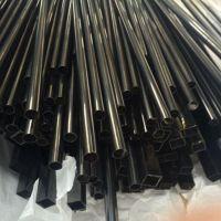 电镀彩色管-201光面黑钛金不锈钢管30*0.7*0.8*0.9*1圆丝黑钛金圆管