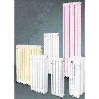 厂家直供虹阳钢四柱暖气片钢制散热器采暖散热器 钢制圆管采暖器