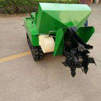 新推出双履带式开沟机 尿素有机肥施肥机 果园深耕机 科博机械