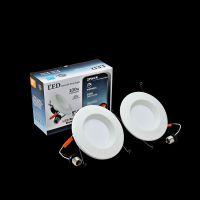 优信光LED筒灯 E26灯座6寸12W AC120V 美国UL认证5年质保 72颗SMD2835灯珠