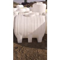 进口牛筋料卧式1.5吨塑料桶 1.5T卧式储罐 1500公斤长方形运输塑料桶