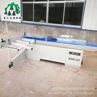 MJ90-28Y木工精密裁板锯 青岛木工推台锯 木工机械圆木切割机