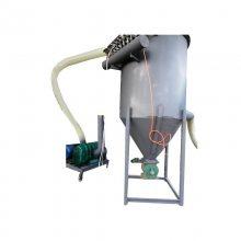 兴亚白城市带除尘器气力粉料输送机 沙土进仓吸送机 高扬程风力输送机