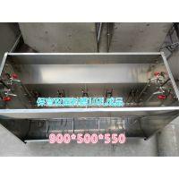 中原康地 KD523 小仔猪食槽 不锈钢自动料槽 喂猪槽食槽 畜牧养猪设备 保育猪料槽