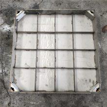 金聚进 厂家定制不锈钢隐形装饰窨井盖304不锈钢雨水井盖下沉式污水窨井