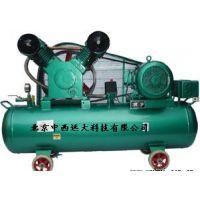 中西供普通式全无油润滑空压机/无油静音空气压缩机 型号:CD22-VW-0.3/7