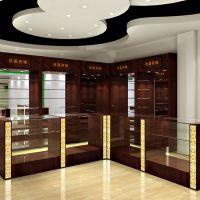 无锡中药斗生产厂家 药店操作台 西药玻璃展示柜定制