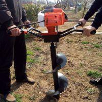 普航式打坑机 大马力汽油挖坑机 农用栽树打孔机价格