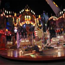大型游乐场设备星际探险xjtx-18人三星厂家现货广场游乐园设备