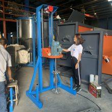 7.5千瓦分散机厂家直供电动升降分散机 液体分散机 液体搅拌罐图片