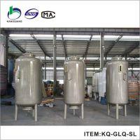 反渗透设备预处理过滤器 直径2500碳钢衬胶桶 直边高度2米