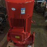消防泵厂家XBD10/55G-FLG 消防喷淋泵 立式结构75kw消防稳压泵