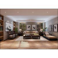 金宏豪庭132平现代简约装修效果图半包4.6万