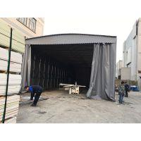 上海松江区户外大型固定雨棚布室外遮阳蓬厂房活动推拉帐篷