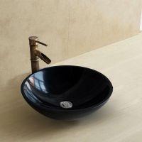 高澜卫浴厂家直销木纹石大理石洗手台盆石头台上盆