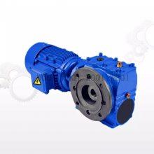 沃旗 减速机 SAF57 DRS80S4BE1HF制动电机减速器