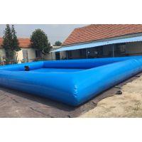 移动充气水池设备价格 游乐气模水池郑州销售厂家 郑州产100平米水池设备价格