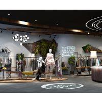 东莞购物空间设计|东莞服装店购物空间设计公司|东莞服装店购物空间设计案例